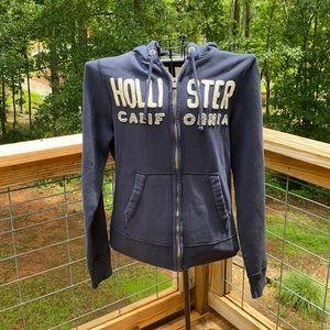 Hollister California Full Zip Hoodie Jacket L